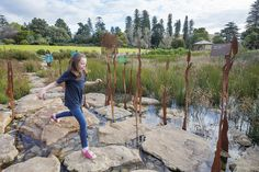 Wetalnd Water Playspace  (T.C.L - Taylor Cullity Lethlean : Projects : Adelaide Botanical Gardens Wetland)