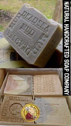 Grandma's Natural Soap Handmade Artisan Handcrafted All Natural - Eczema Skin Care Benefits Coffee Soap, Olive Oil Soap, Homemade Soap Recipes, Ginger And Honey, Pure Oils, Organic Soap, Home Made Soap, Handmade Soaps, Soap Making