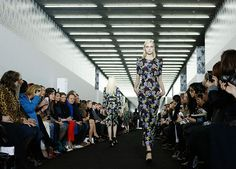 LFW - Models close the show for Erdem in head-to-toe floral