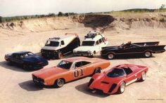 Knight Rider, The 'A' Team, Ghost Busters, Batman, The Dukes of Hazard and Hardcastle & McCormick. This would make a hell of an 80's car collection. What it's missing is Street Hawk's bike and Magnum PI's Ferrari.