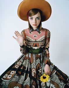 Emma Stone. Photograph by Tim Walker; styled by Jacob K; W magazine February 2015.