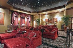 From rustic leather to modern fabrics, discover the top 70 best home theater seating ideas. Explore movie room furniture layouts and designs. Best Home Theater, At Home Movie Theater, Home Theater Rooms, Home Theater Design, Home Theater Seating, Cinema Room, Montgomery Homes, Small Home Theaters, One Bedroom Apartment