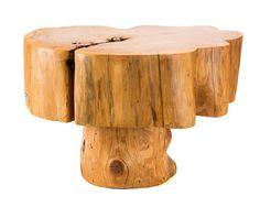 Salvaged Patagonian Cypress Wood Mushroom Side by PatronDesign, $455.00