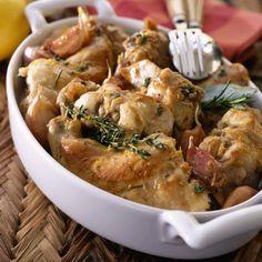 Blanquette de poisson (ultra rapide) – Toutes recettes Meat Recipes, Stew, Shrimp, Rabbit, Menu, Dishes, Chicken, Food, Marie Claire