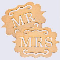 Mr + Mrs Wedding Cha