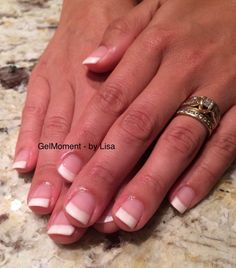 Diy Quick Easy French Manicure Gelmoment Long Lasting Gel Polish