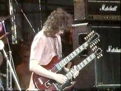 Part 3: The Led Zeppelin reunion takes flight on the Stairway, & carries with them 90,000+ along for the ride.  Does anybody remember laughter?    This clip has been cleaned up: the green hues from the 20 yr old + tape has been removed, the brightness & contrast have been balanced out.    The audio has been synchronized to the FM broadcast captu...
