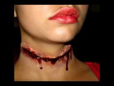 Halloween make-up tutorials for slashes, gashes and more.  Used this technique for halloween last year. Results were awesome.