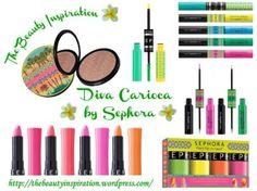 "New makeup collection ""Diva Carioca"" Sephora"