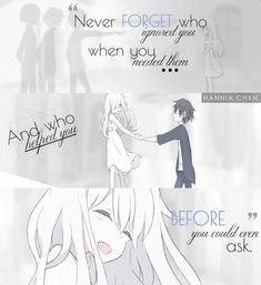 neverforget help who Sad Anime Quotes, Manga Quotes, Anime Quotes About Life, Anime Depression, Depression Quotes, True Quotes, Best Quotes, Dark Quotes, Les Sentiments