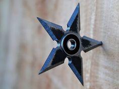 Make a Ninja Star Fidget Spinner
