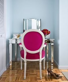 raspberry chair-yes!