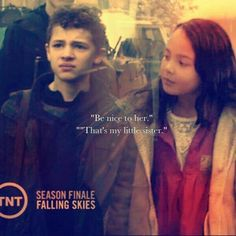 Brotherly love- Falling Skies