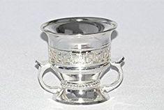 Islamic Silver Decor. Islamic Home Decor. Arabia Incense/Bakhoor Burner (Mabkhara) -Oud Burner,Silver Metal,Tray Inside - USA seller