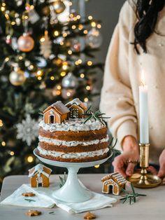 Ihana Piparkakku-kakku (M)   Annin Uunissa White Christmas, Christmas Diy, Xmas, Most Delicious Recipe, Christmas Fashion, Holiday Baking, Christmas Inspiration, Bakery, Yummy Food