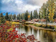 Gepind van kepguru Fall Photos, River, Mountains, Nature, Outdoor, Autumn, Van, Autumn Photos, Outdoors