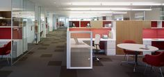Dividends Horizon Workstations with Life Chairs at Fallon | Knoll Project Profile
