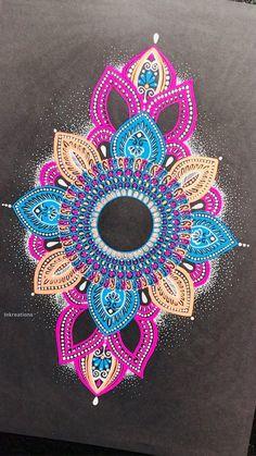 Mandala Doodle, Mandala Canvas, Mandala Drawing, Mandala Art Therapy, Mandala Art Lesson, Art Painting Gallery, Dot Art Painting, Cool Art Drawings, Flower Drawings