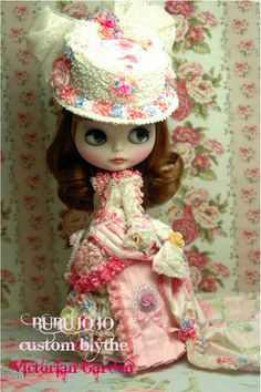 BUBUJOJO custom blythe Victorian Garden | Flickr - Photo Sharing!