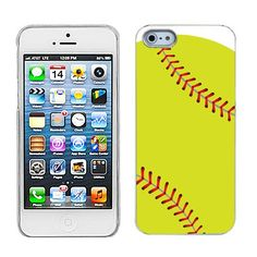 One Tough Shield ® SLIM-FIT Hard Cover Phone Case for Apple iPhone 5 5s - (Softball Green). Compatible with: Apple iPhone 5 5s. SLIM-FIT One-Piece Hard Cover Case. Snap On Design. Full ports access for camera lens/buttons/charging. Made for perfect fit. Protect your mobile device without compromising it's original slim look. Phone Not Included.