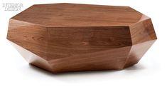 Shadow Box Table, Cool Furniture, Furniture Design, Contemporary Furniture, Italian Home, Coffe Table, Interior Design Magazine, Walnut Veneer, Center Table