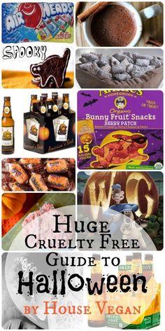 House Vegan: Huge Cruelty Free Guide to Halloween | Vegan Halloween Fun