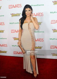 Actress Romi Rain arrives at the 2017 Adult Video News Awards held at the Hard Rock Hotel & Casino on January 21, 2017 in Las Vegas, Nevada.
