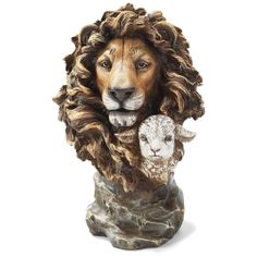The Lion And The Lamb Sculpture Christmas Pinterest
