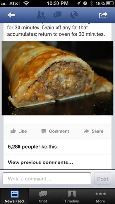 Pastry Stuffed Meatloaf Roll 1