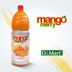 Mango Merry is yet another #consumer product in the long list of D-mart's own product line. We coined the #mangomerry unit and designed the packaging for their 2L bottle. #CreativePackaging #DMart #Branding