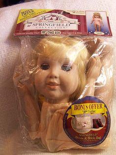 Springfield Girl DOLL Sarah 18 Blonde Hair Blue Eyes by mrnglry, $19.50