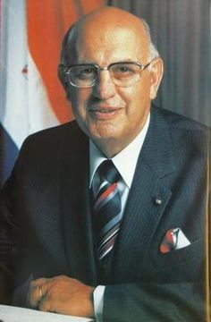 """Pieter Willem Botha, DMS January 1916 – 31 October commonly known as """"P."""" and Die Groot Krokodil (Afrikaans for """"The Big Crocodile""""), was the prime minister of South Africa from 1978 to 1984 and the first executive state president from 1984 to African Culture, African History, Majority Rule, Political Reform, South African Air Force, Defence Force, Apartheid, New South, World Leaders"""