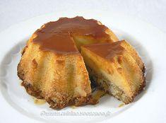 Flan aux pommes, amandes et Calvados / Une cuisine pour Voozenoo