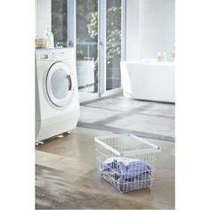 """Steel Laundry Caddy """"Tower"""" on AHAlife"""
