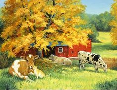 """""""Golden Days 1"""" by Linda Picken"""