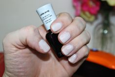 This is one coat of 'white away'
