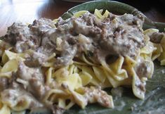 Poor Man's Beef Stroganoff - Recipes to Cook - Pasta Rezepte Stove Top Recipes, Beef Recipes, Cooking Recipes, Healthy Recipes, Easy Hamburger Meat Recipes, Pasta Recipes, Hamburger Dishes, Recipies, Hamburger Casserole
