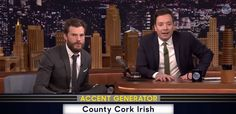 Watch:Hilarious 50 Accents of Grey with Jimmy Fallon and Jamie Dornan Nipple clamps, hot fudge brownie sex and raging female hormones might sound sexy... but not in Russian or Scottish accents they don't. http://www.thesouthafrican.com/watchhilarious-50-accents-of-grey-with-jimmy-fallon-and-jamie-dornan/
