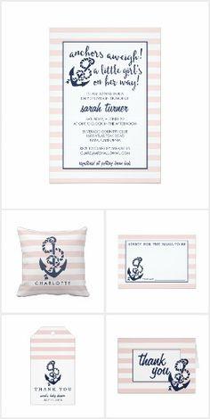 Baby Girl Pink Bandana Baby Shower Invitation Im Having A Baby Girl