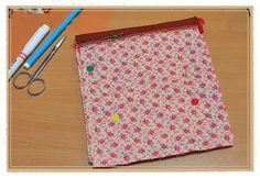 Patchwork and Quilted  Purse zipper DIY. Tutorial with Photos.  Кошелек на ремешке. МК.