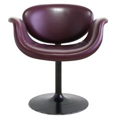 Image of Pierre Paulin Tulip Leather Chair - 6 Avail.