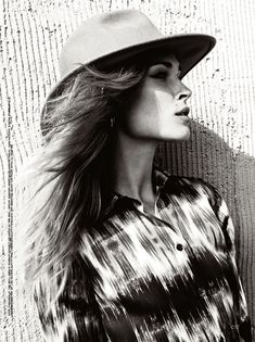 Erin Wasson is a Western Beauty in Hilary Walshs Shoot for C Magazine - Fashion Gone Rogue: The Latest in Editorials and Campaigns