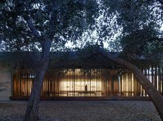 Built by Aidlin Darling Design in Stanford, United States with date 2014. Images by Matthew Millman Photography. Architect firm, Aidlin Darling Design has completed The Windhover Contemplative Center on the campus of Stanford Univ...
