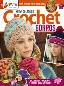 Crochet GORROS Nº 02 - 2016