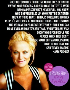 Amy Poehler, love her.
