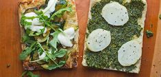 Learn to make our vegetarian sandwich with zucchini, pesto and potato.