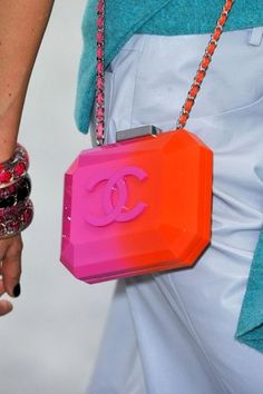 Multi-colored Chanel Bag