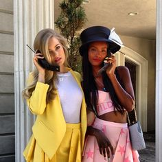 Fatima Siad in a Clueless inspired photoshoot