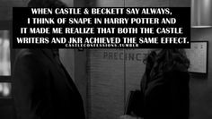 Castle and Harry Potter Reference? yes, please