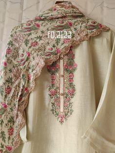 Beautiful Pakistani Dresses, Pakistani Dresses Casual, Pakistani Dress Design, Stylish Dress Designs, Designs For Dresses, Stylish Dresses, Kurti Neck Designs, Kurta Designs Women, Embroidery Suits